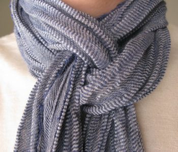 Как се носи шал