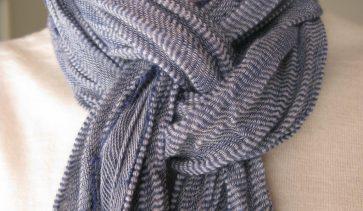 Как се носи шал?
