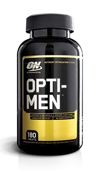 Защо да изберем спортните мултивитамини Opti-men на Optimum Nutrition